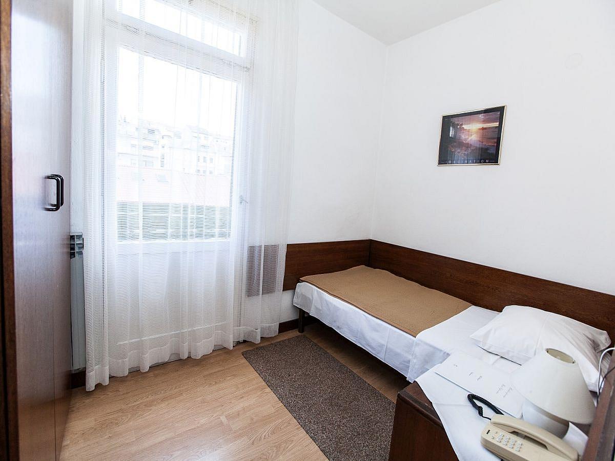 Single room with half board