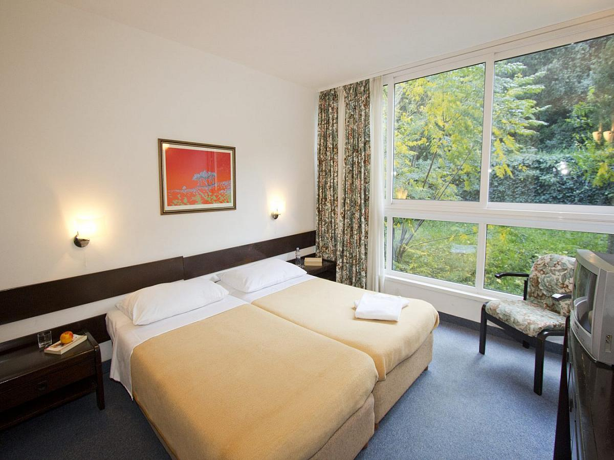 Double room park side with half board