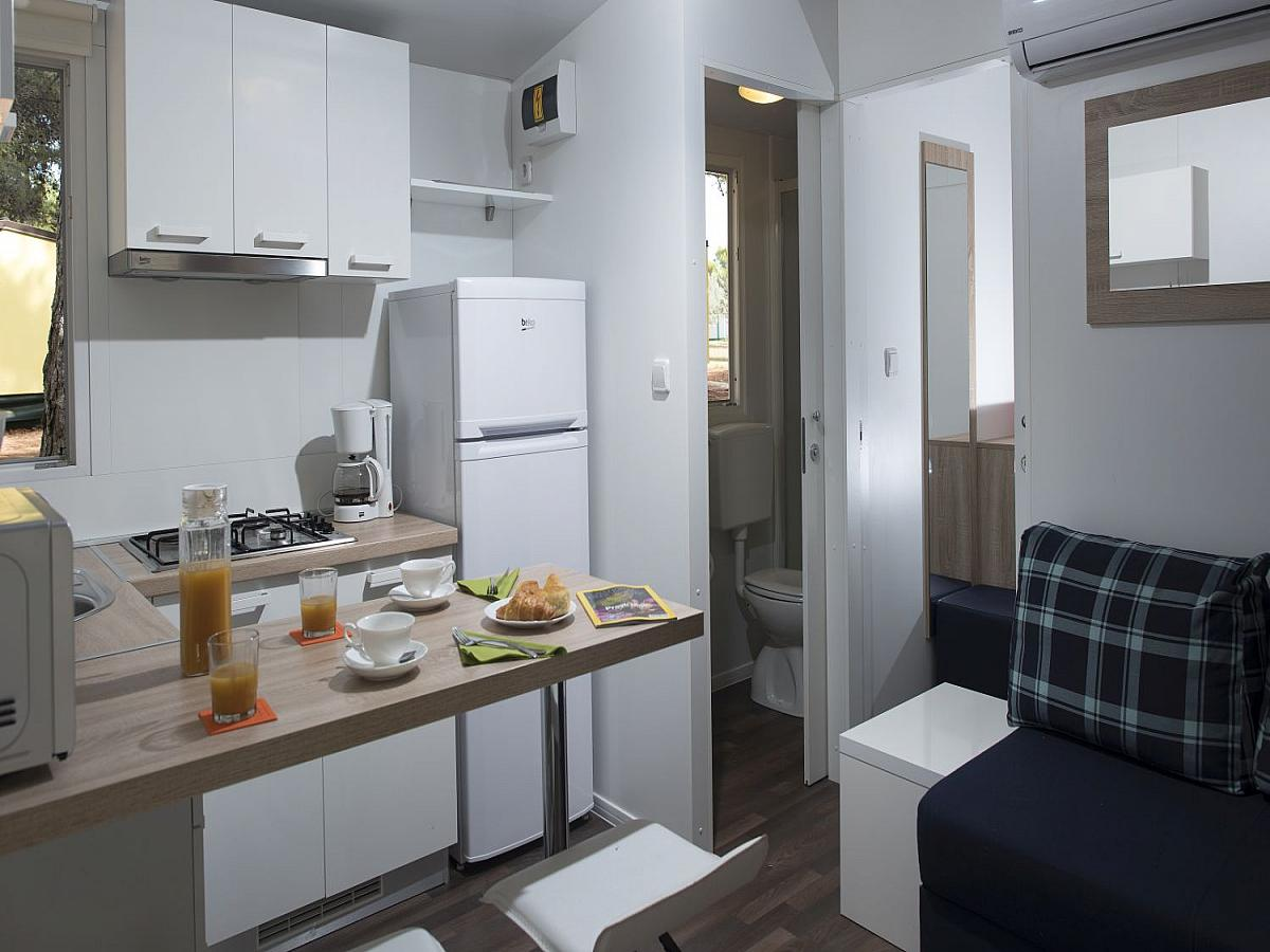 Mobile home for 4+2 people premium (32M2)