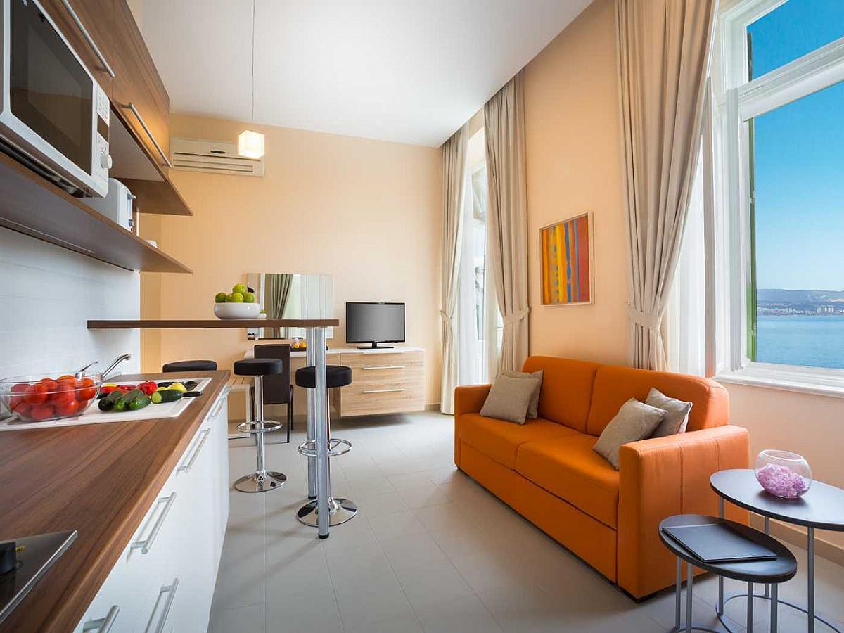 Studio apartment for 3 people, superior