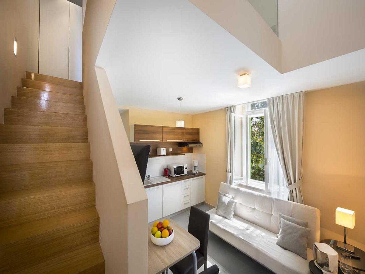 Studio apartment for 4 people, premium