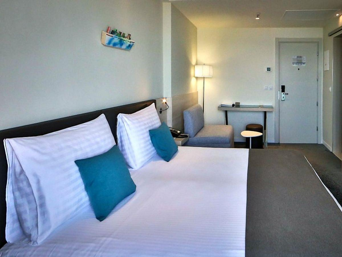 Double room park side Superior with half board
