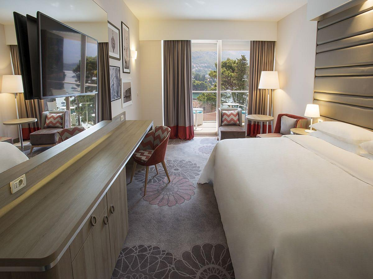 Double room sea view with bed and breakfast  - deluxe