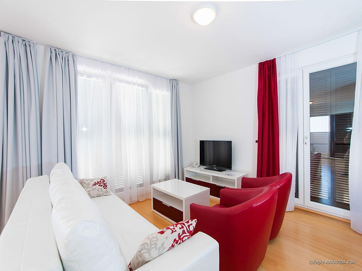 Apartment for 2 people with 2 extra beds (55 m2)