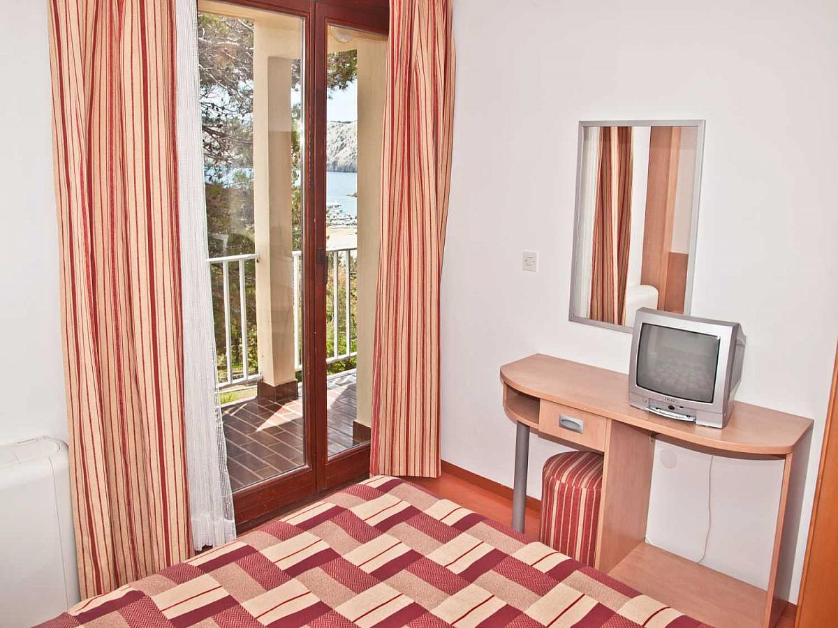 Double room standard with balcony and half board