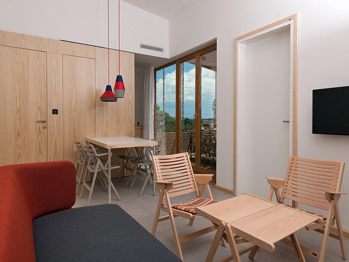 Apartament dla 3 osób dorosłych lub 2 dorosłych i 2 dzieci