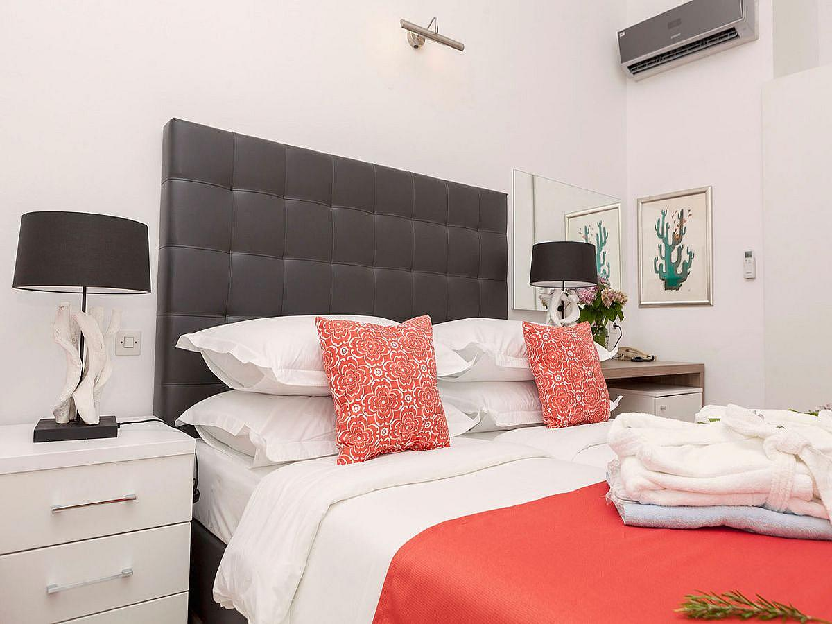 double room waterman superior with 2 help beds on half board basis
