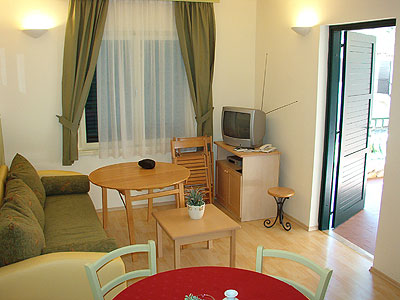 Apartment for 4 people with extra bed, standard plus