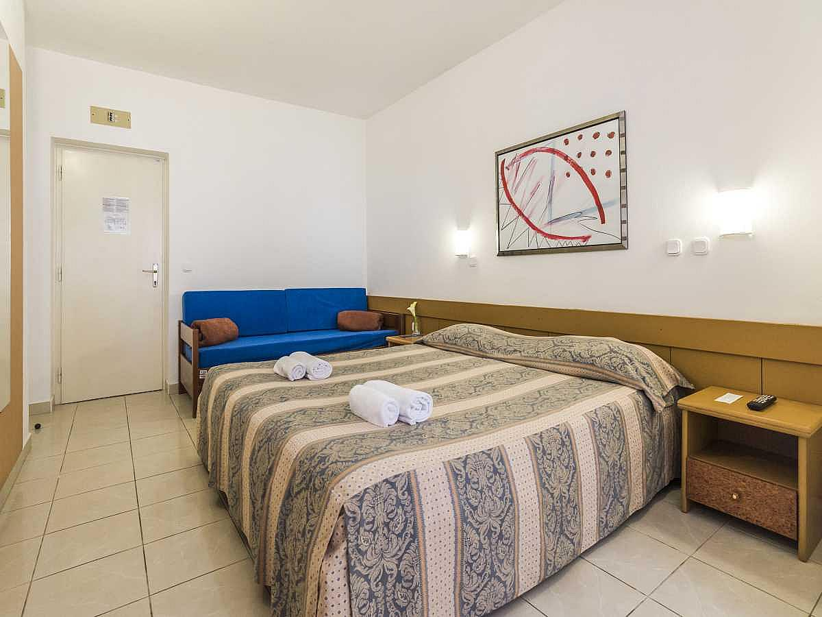 Double room with balcony and half board