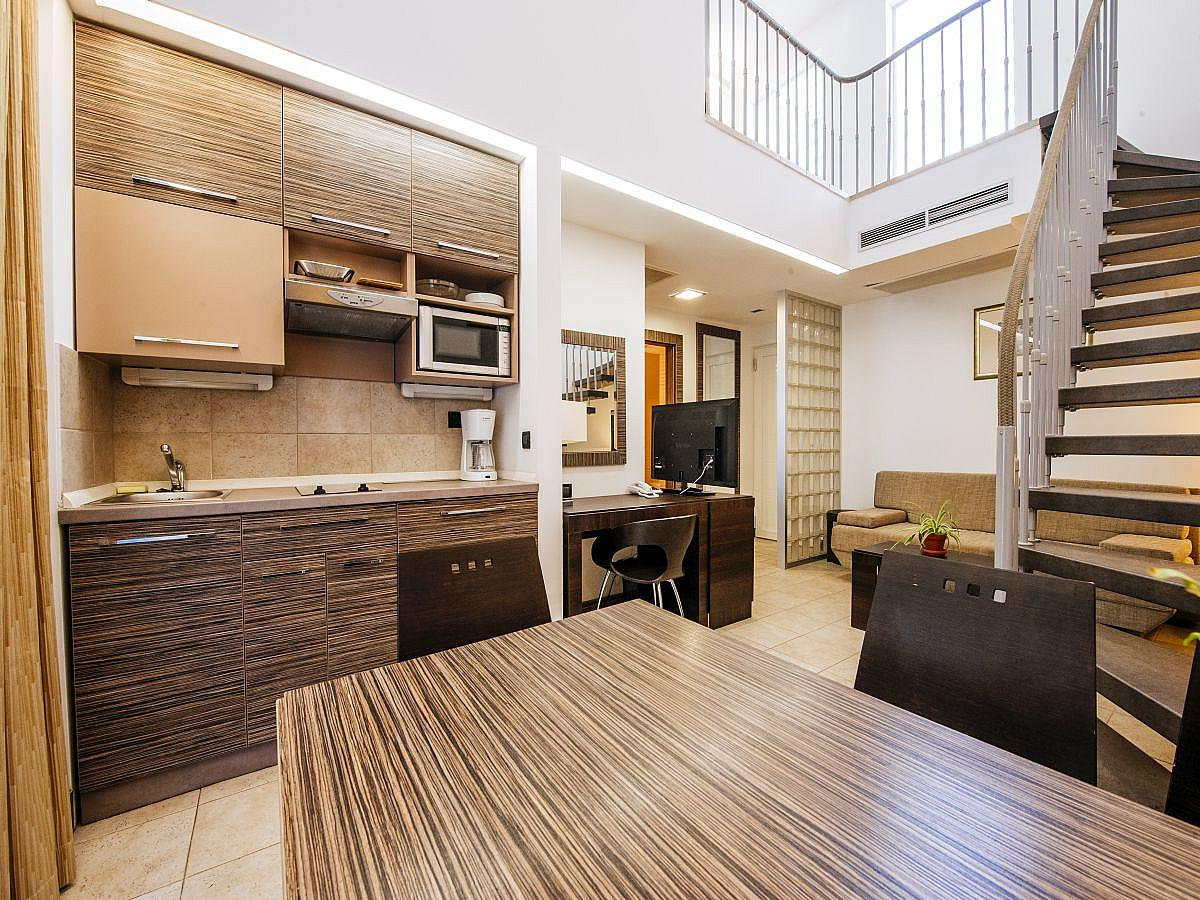 Apartment for 5 people with extra bed